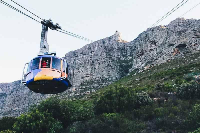 Téléphérique Table Mountain