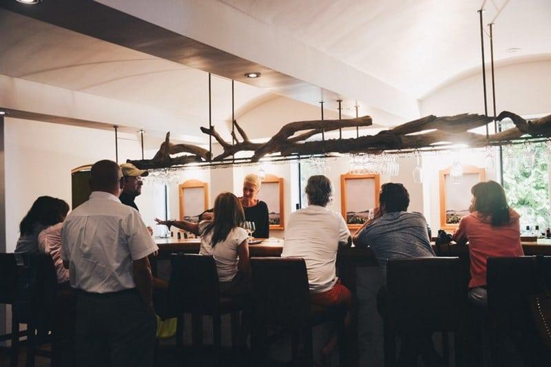 Bar à vins Stellenbosch