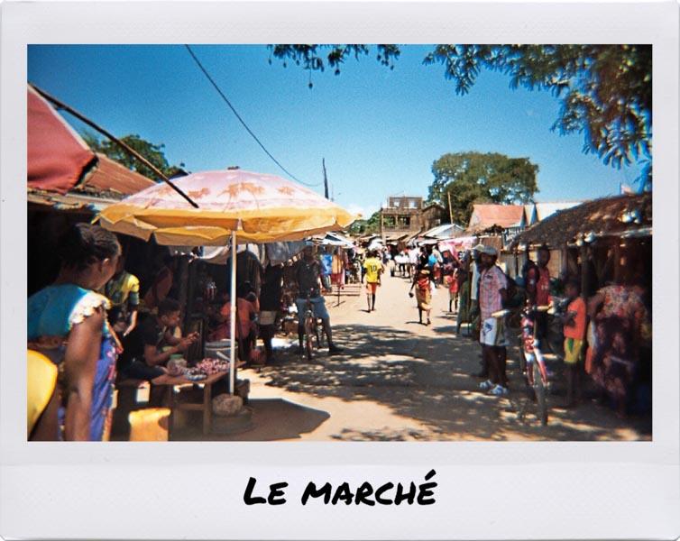 Marché Madagascar