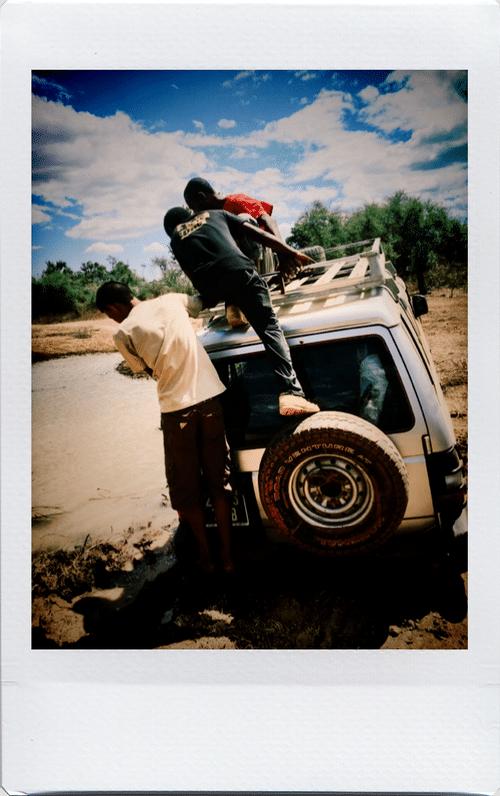 Galère à Madagascar