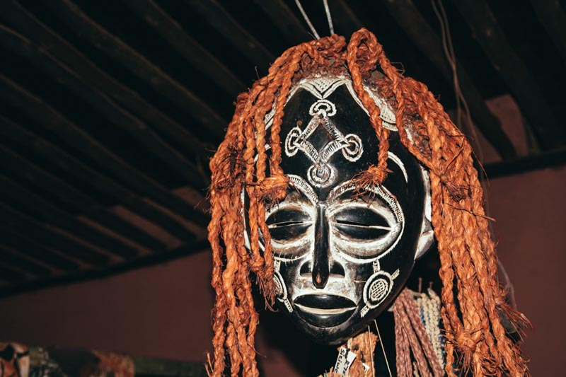 Masque Afrique du Sud