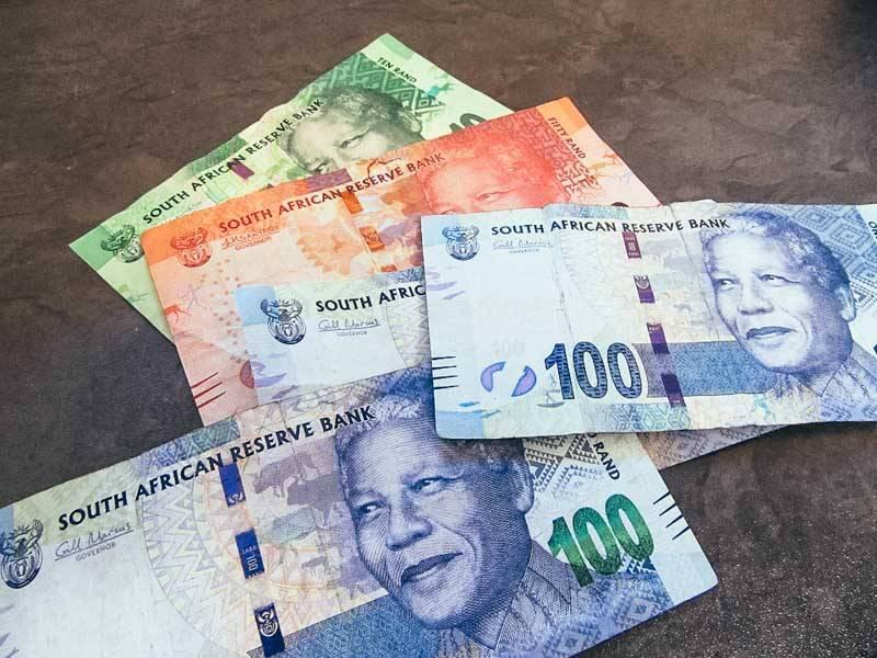 Rand sud africain
