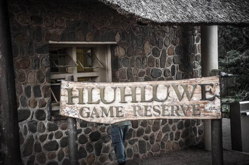 Hluhluwe game reserve