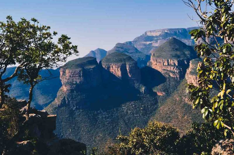 Rondavels Blyde river canyon