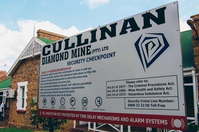 Mine de diamants Cullinan