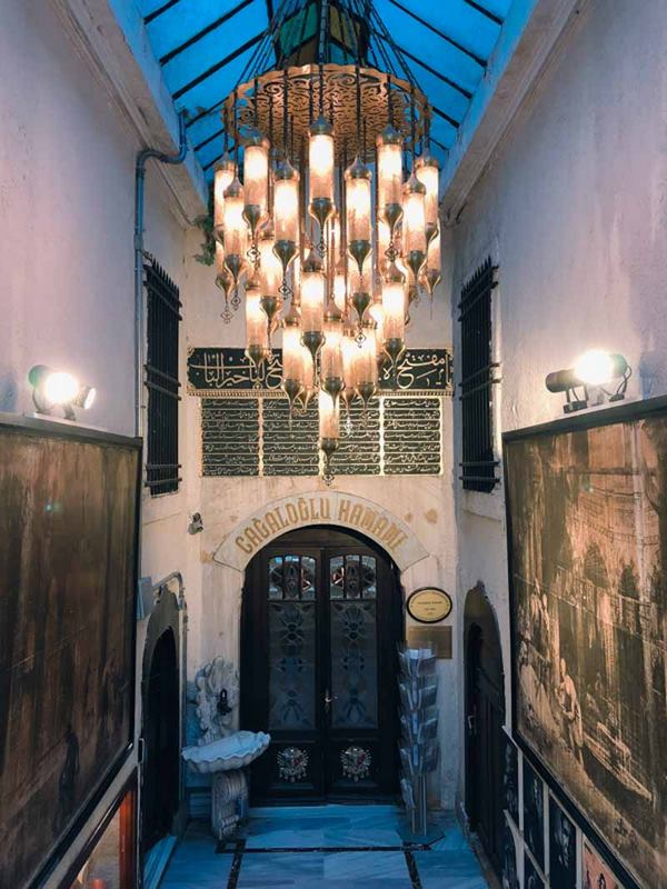 Cagaloglu Hamami Istanbul