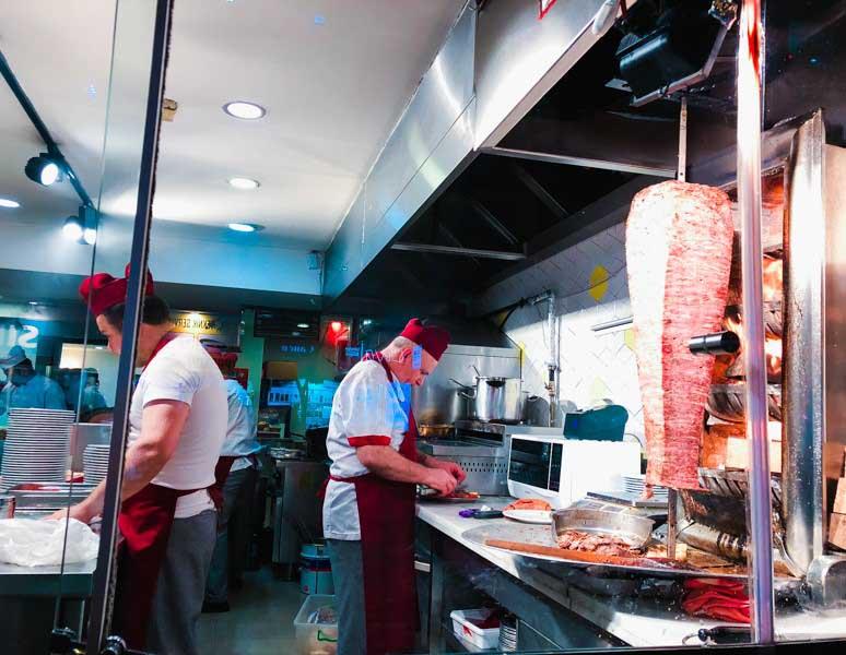 Kebab à Istanbul