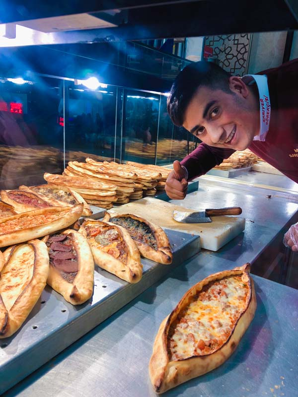 Pizza à Istanbul