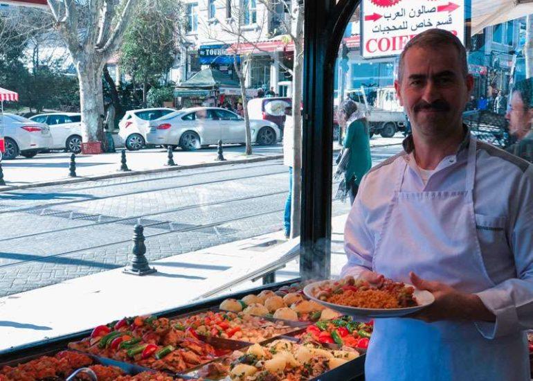 Manger à Istanbul