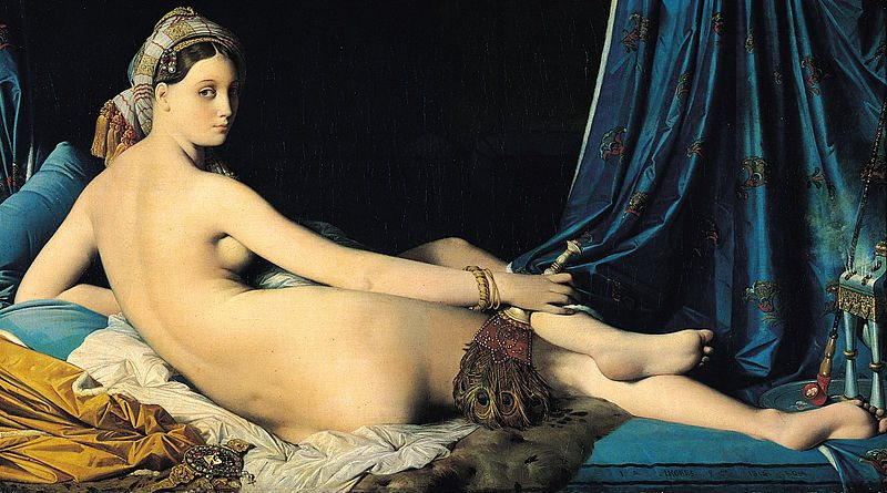 Odalisque With Tambourin