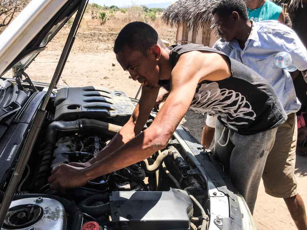 Galères à Madagascar
