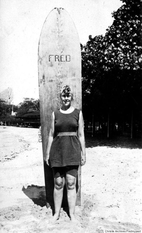 Agatha Christie et surf