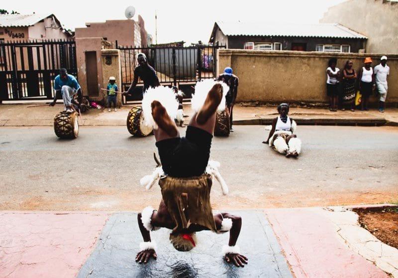 Danse Zoulou à Soweto