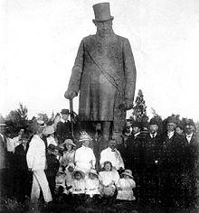 Statue Paul Kruger