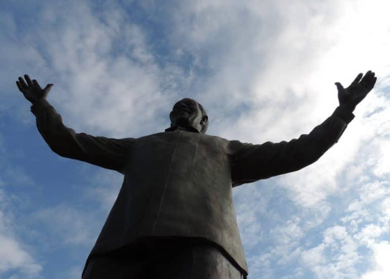 Statue Mandela