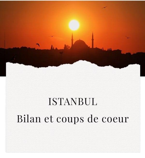 Istanbul coups de cœur