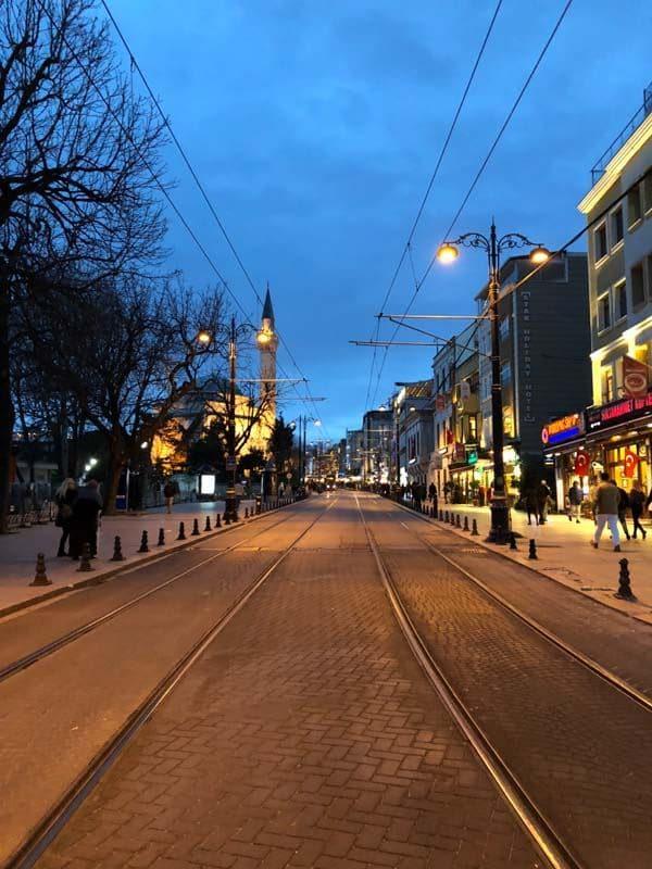 Sultanahmet tram
