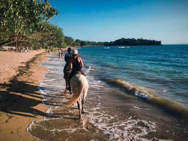 Cheval à Nosy Be