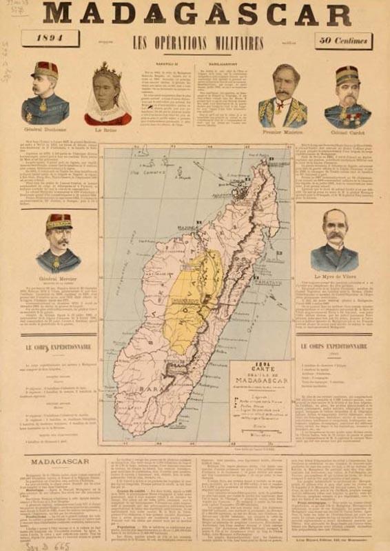 Colonie Madagascar