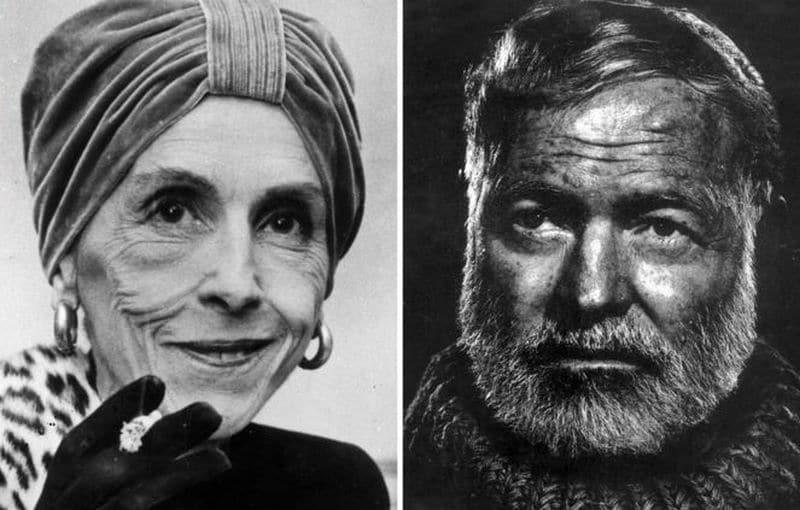 Karen Blixen et Ernest Hemingway