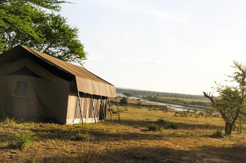Campement safari