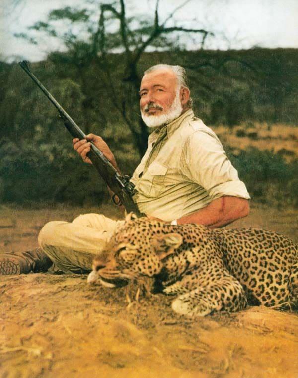 Ernest Hemingway Afrique