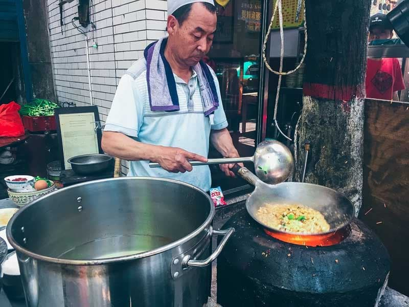 Street food à Xi'an