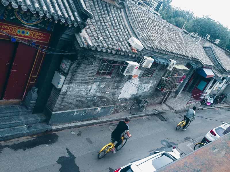 Hutong à Pekin